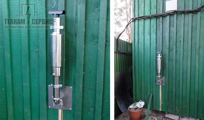 Дополнительный глушитель для генератора своими руками 88